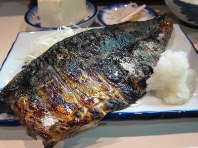 焼き鯖の真